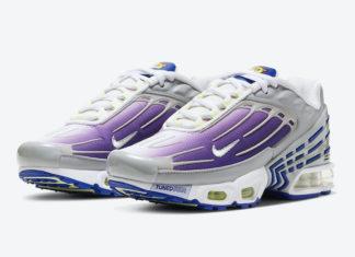 Nike Air Max Plus 3 GS Purple Nebula CD6871-006 Release Date Info