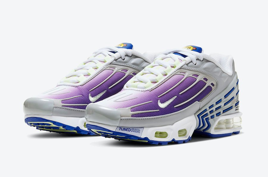 Nike Air Max Plus 3 GS Purple Nebula CD6871-006 Release Date Info