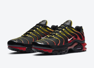 Nike Air Max Plus Black Red Yellow CZ9270-001 Release Date Info