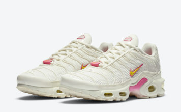 Nike Air Max Plus Sail Pink Yellow CZ0373-100 Release Date Info