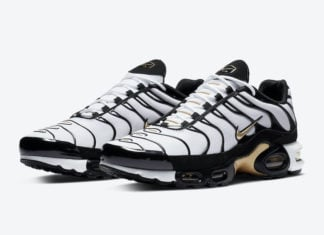 Nike Air Max Plus White Black Gold CZ9188-001 Release Date Info
