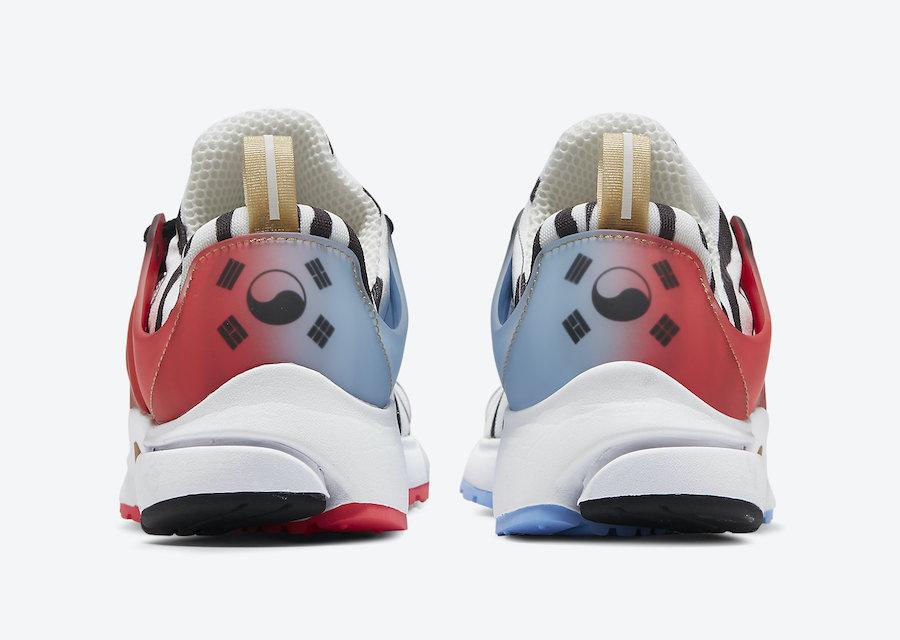 Nike Air Presto Korea CJ1229-100 Release Date Info