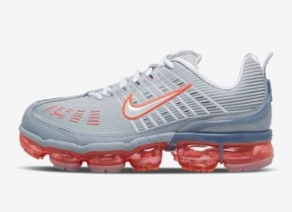 Nike Air VaporMax 360 Sky Grey Flash Crimson CK9671-002 Release Date Info