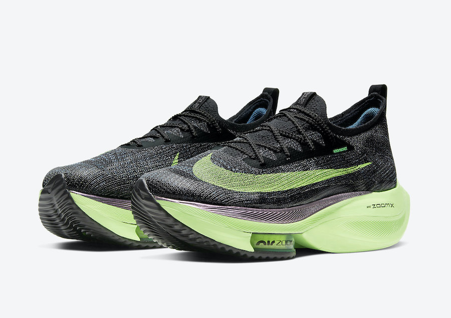 Nike Air Zoom Alpha NEXT% Lime Blast CI9925-400 Release Date Info