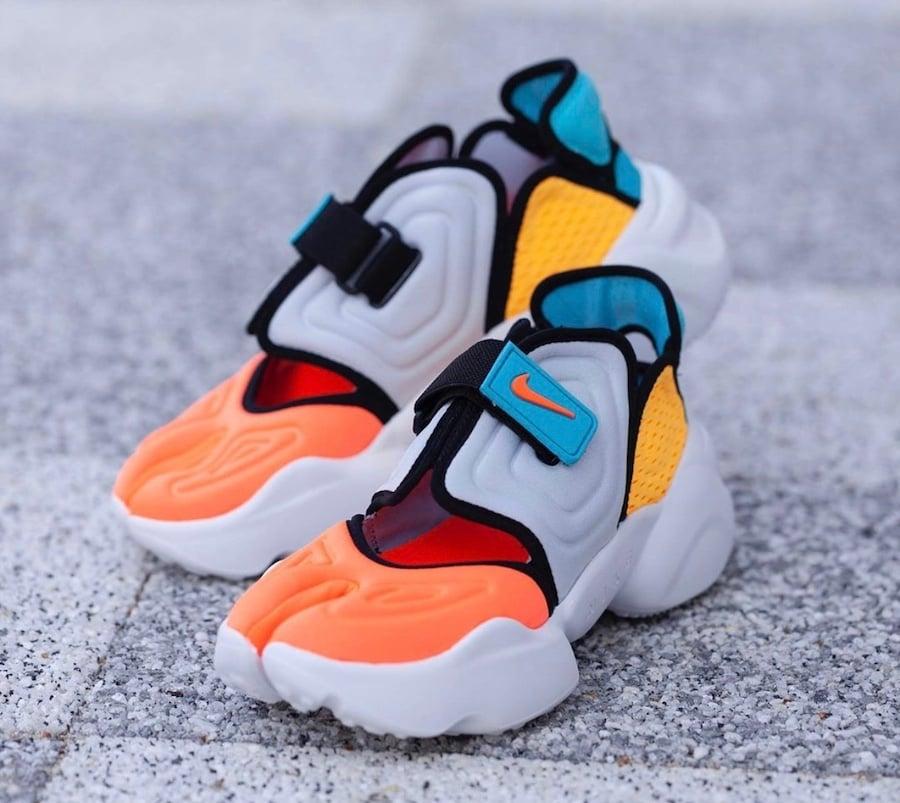 Nike Aqua Rift Orange Blue Yellow