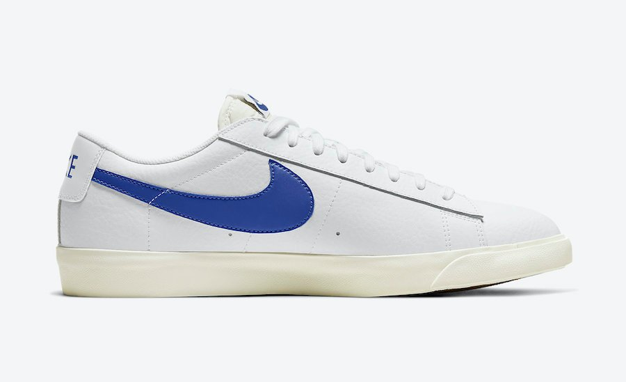 Nike Blazer Low Leather Astronomy Blue CI6377-107 Release Date Info