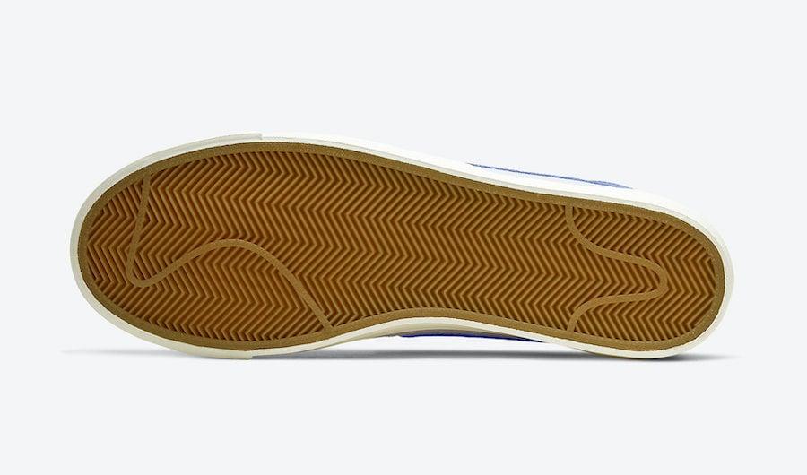 Nike Blazer Low Leather Astronomy Blue CI6377-107 Release Date Info