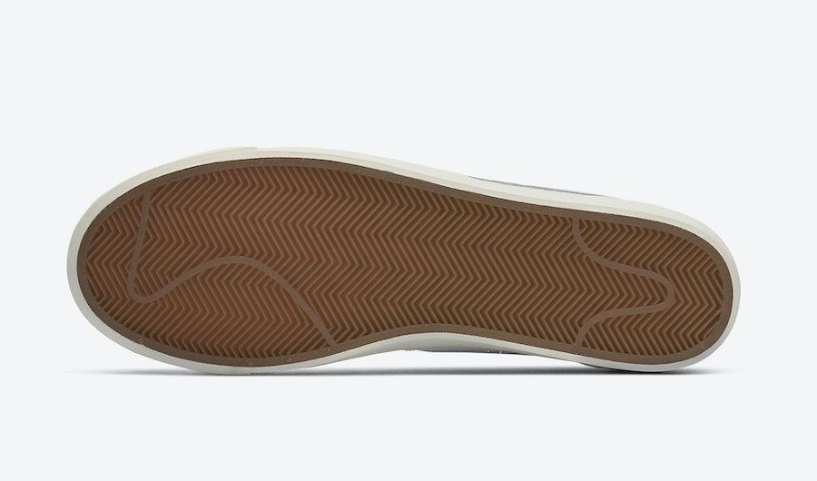 Nike Blazer Low Leather Pink Foam CI6377-106 Release Date Info
