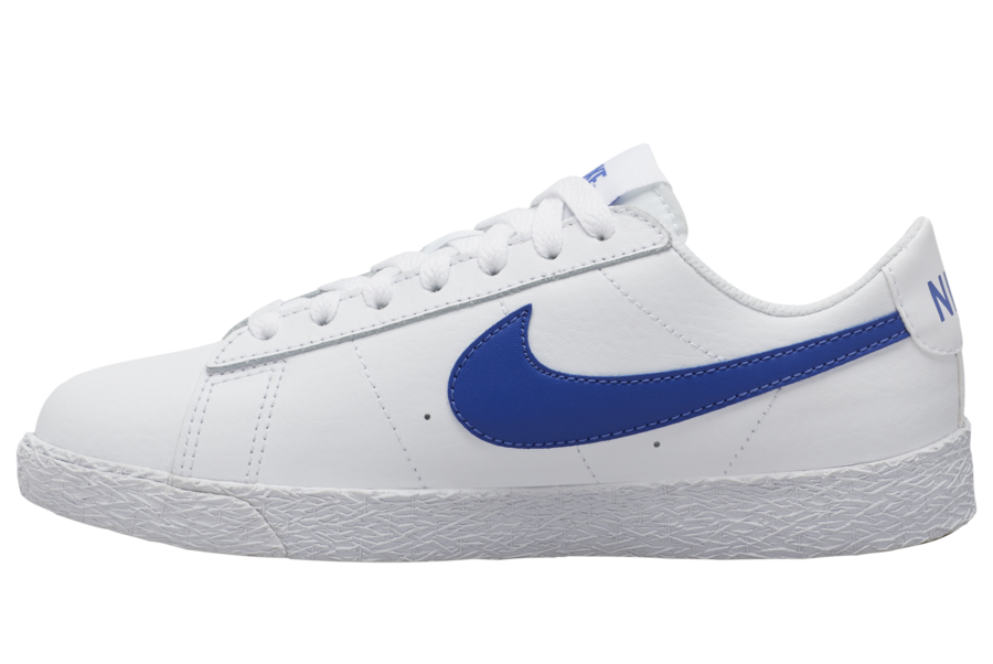 Nike Blazer Low White Blue Gum CZ7576-100 Release Date Info