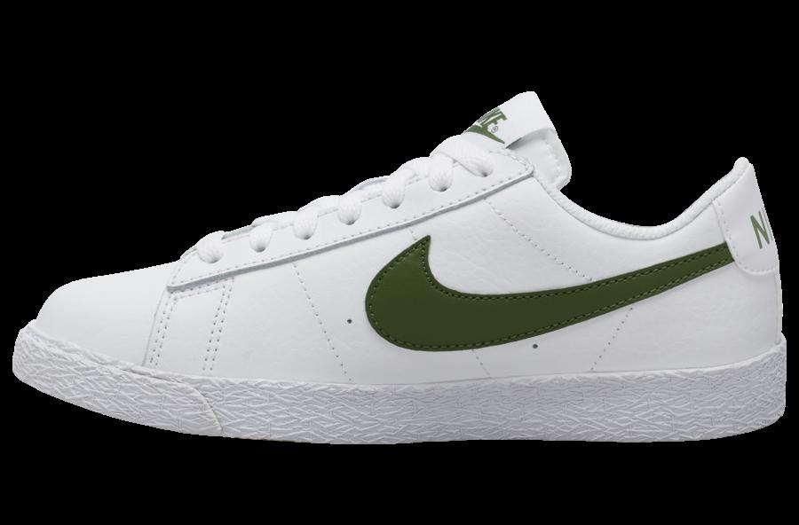 Nike Blazer Low White Green Gum CZ7576-101 Release Date Info