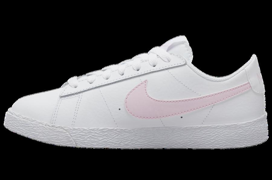 Nike Blazer Low White Pink Gum CZ7576-102 Release Date Info