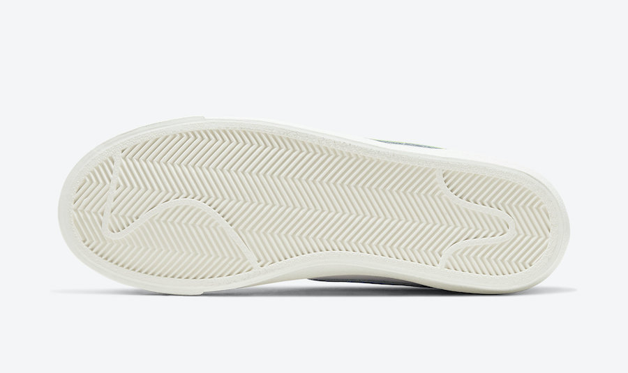 Nike Blazer Mid Barely Volt CZ1055-108 Release Date Info