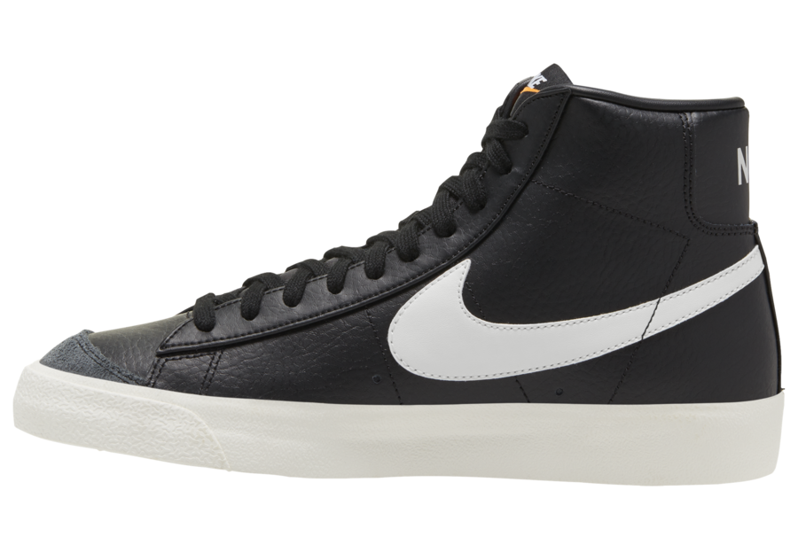 Nike Blazer Mid Black Leather CQ6806-002 Release Date Info
