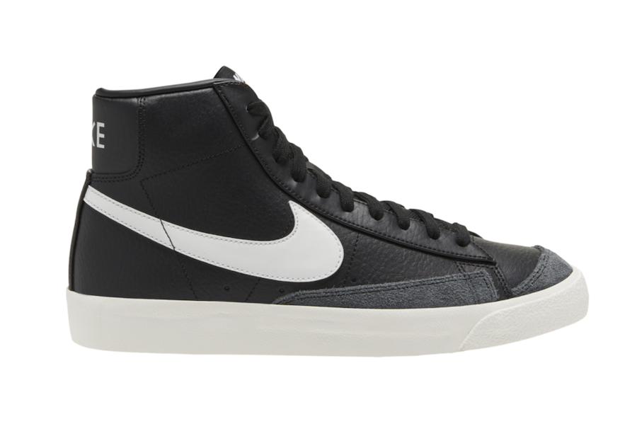 Nike Blazer Mid Black Leather CQ6806-002