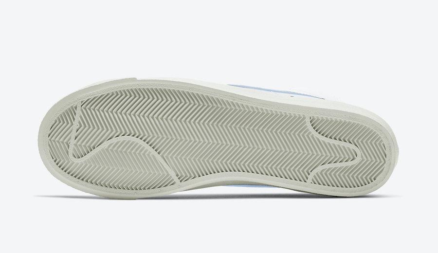 Nike Blazer Mid Celestine Blue BQ6806-109 Release Date Info