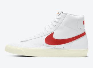 Nike Blazer Mid Habanero Red CZ1055-101 Release Date Info