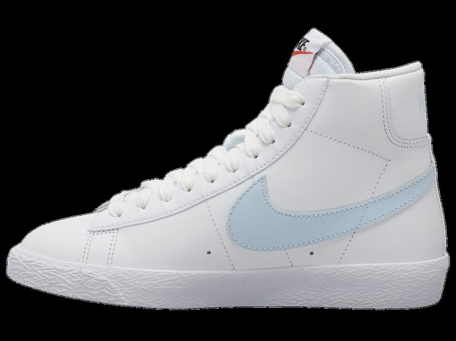 Nike Blazer Mid White Light Blue CZ7531