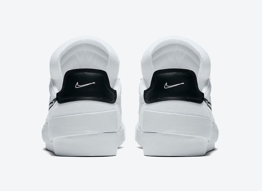 Nike Drop Type HBR White Black CQ0989-101 Release Date Info