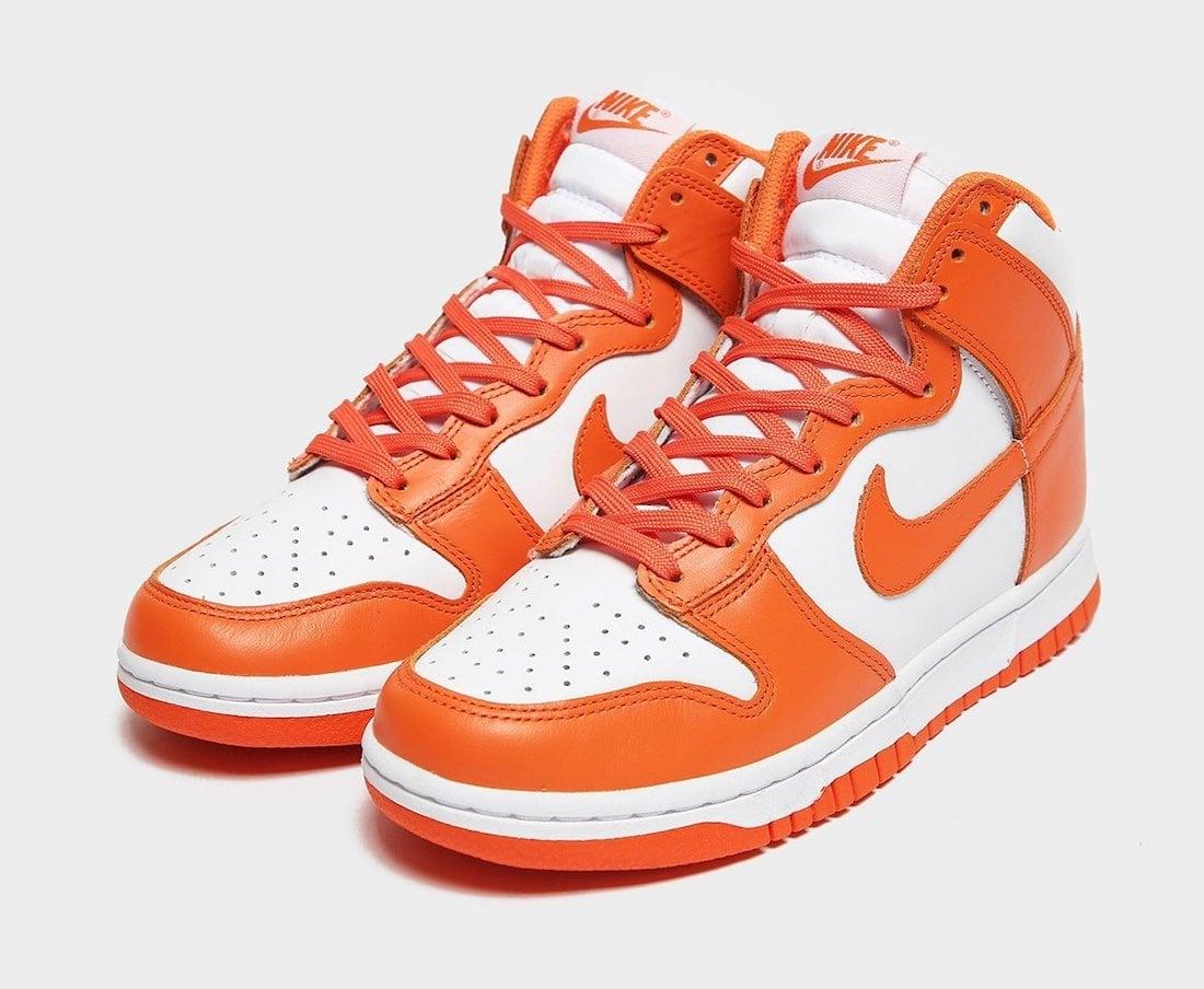 Nike Dunk High Syracuse 2021 Release Date