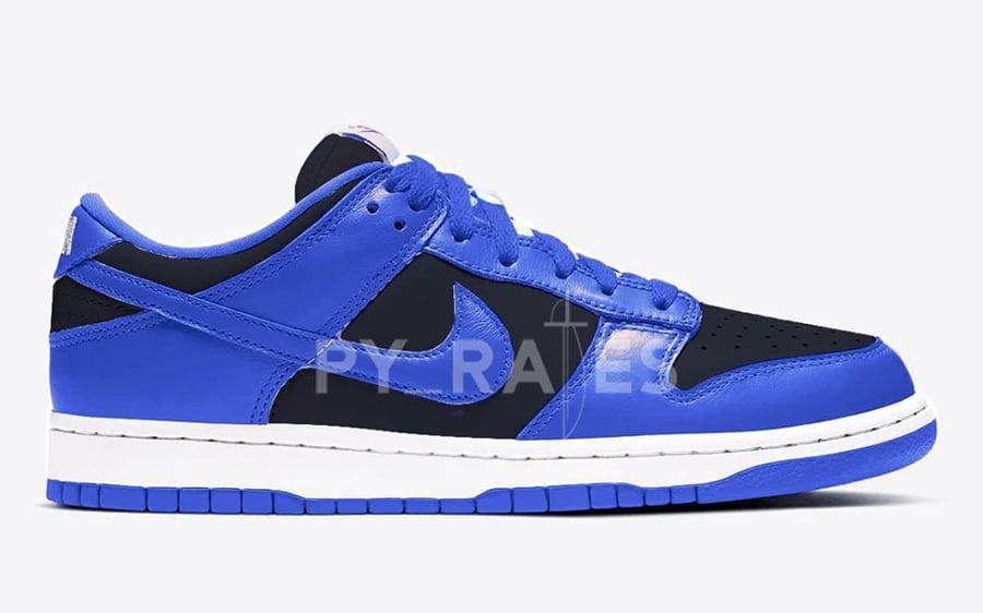 Nike Dunk Low Black Hyper Cobalt 2021 Release Date Info