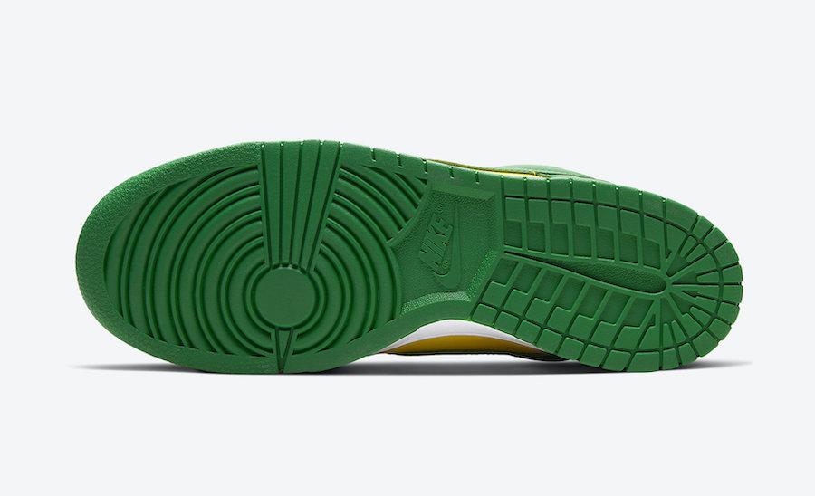 Nike Dunk Low Brazil CU1727-700 2020 Release Info