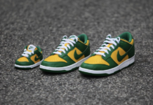 Nike Dunk Low Brazil Family Sizing