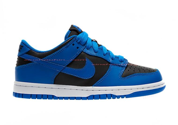 Nike Dunk Low GS Blue Black 2020 Release Date Info