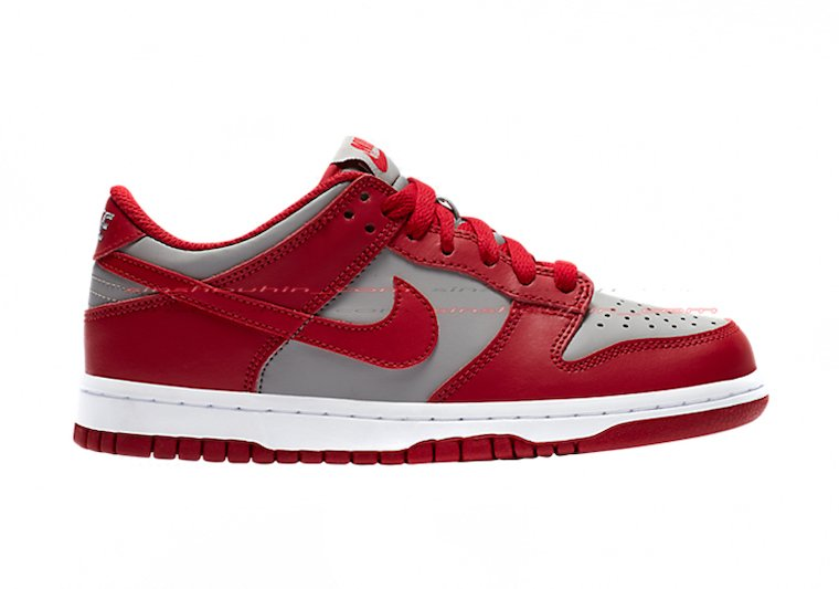 Nike Dunk Low GS Red Grey 2020 Release Date Info