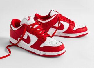 Nike Dunk Low University Red CU1727-100
