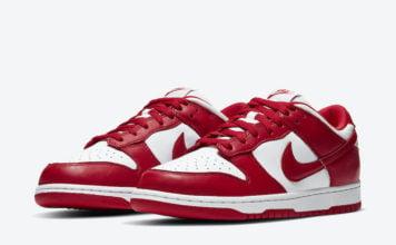 Nike Dunk Low University Red CU1727-100 Release Info