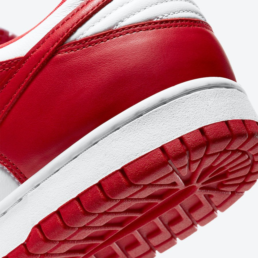 Nike Dunk Low University Red CU1727-100 Release Info