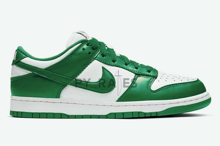 Nike Dunk Low White Team Green 2021 Release Date Info