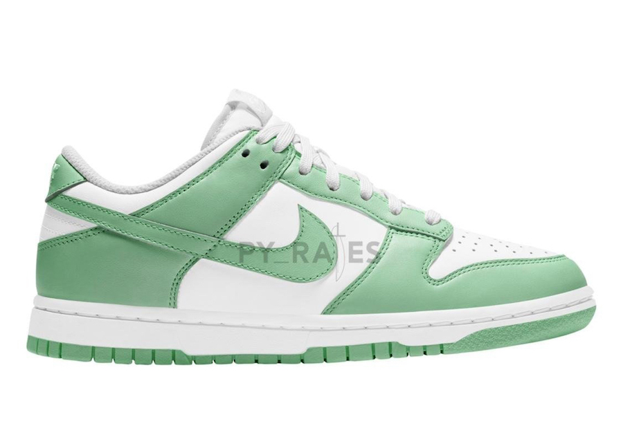 Nike Dunk Low WMNS White Green Glow 2021 Release Date Info