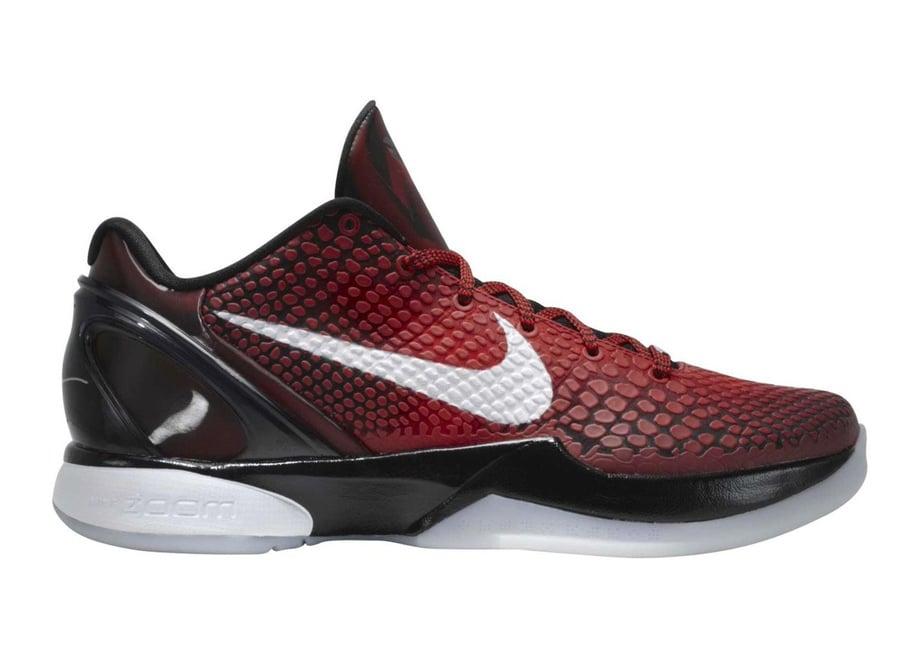 Nike Kobe 6 Protro All-Star Challenge Red Black White DH9888-600 Release Date Info