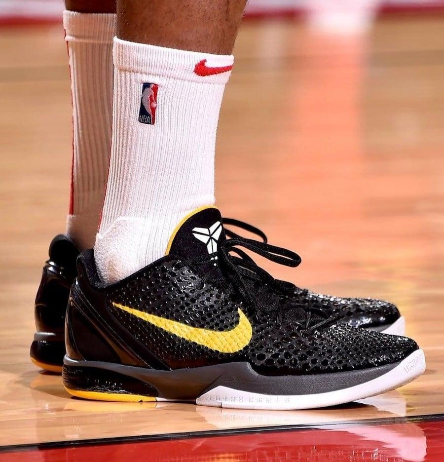 Nike Kobe 6 Protro Black Del Sol CW2190-001 Release Date Info