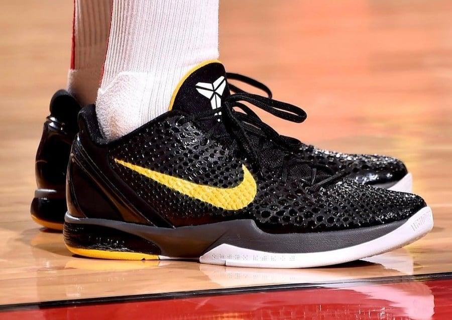 Nike Kobe 6 Protro Black Del Sol CW2190
