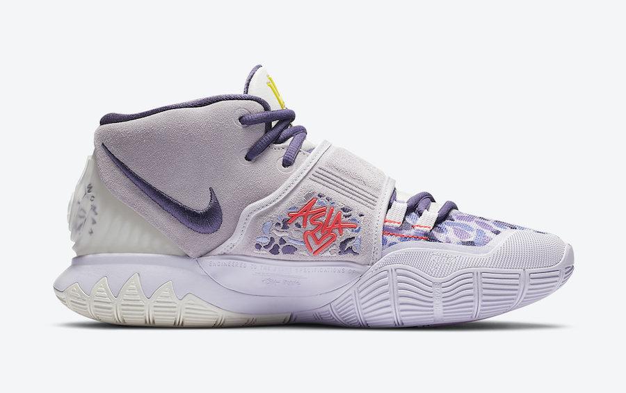 Nike Kyrie 6 Asia Purple Camo CD5031-500 Release Date Info