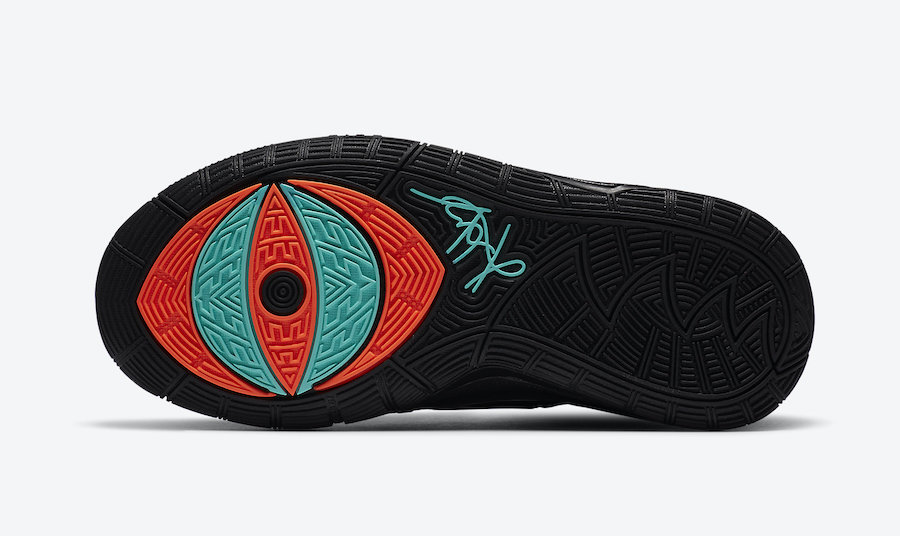 Nike Kyrie 6 Shot Clock Eleven GS BQ4630-006 Release Date