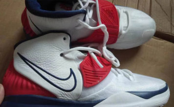 Nike Kyrie 6 USA White Navy Red