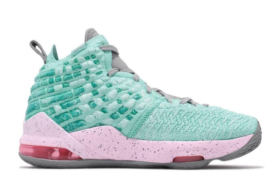 Nike LeBron 17 GS South Beach BQ5594-444 Release Date Info