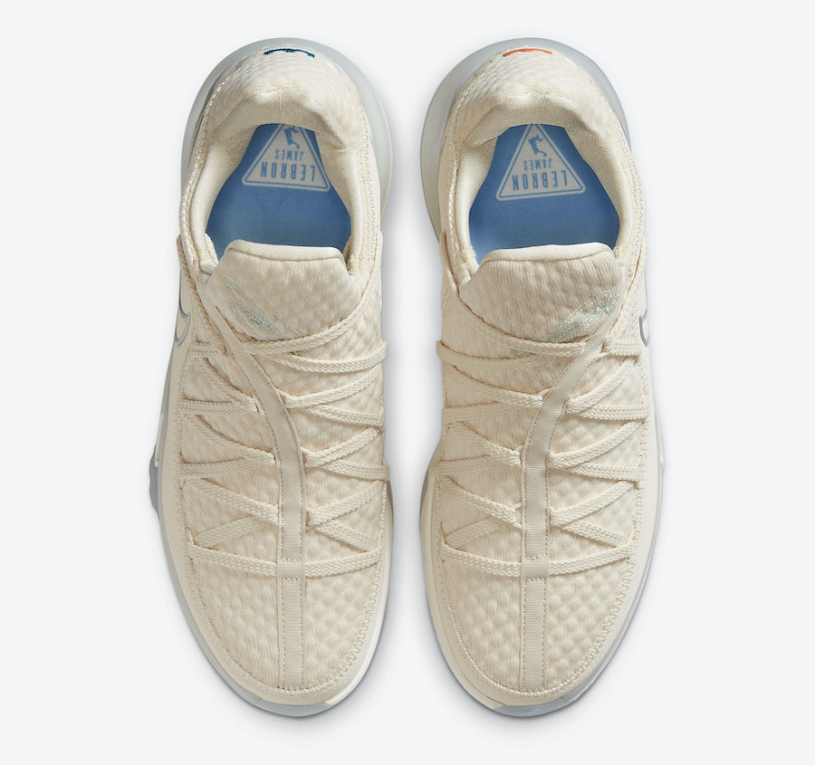 Nike LeBron 17 Low Light Cream CD5007-200 Release Date Info