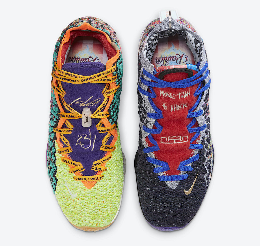 Nike LeBron 17 What The CV8080-900 Release Date