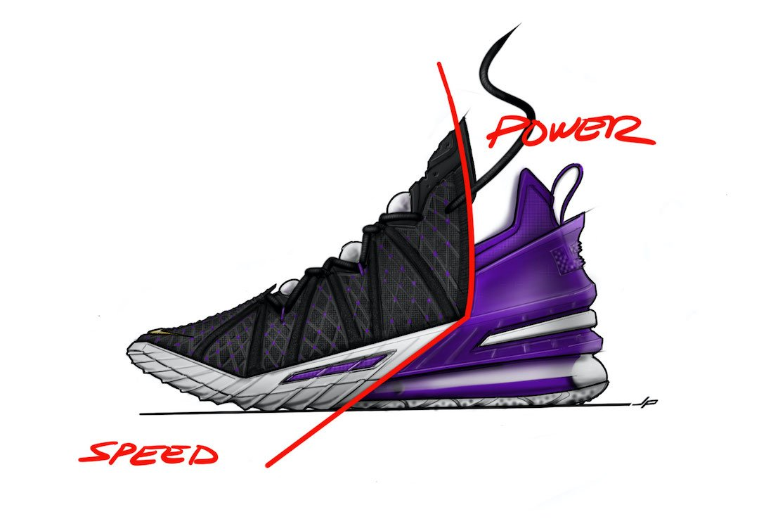 Nike LeBron 18 Speed Power