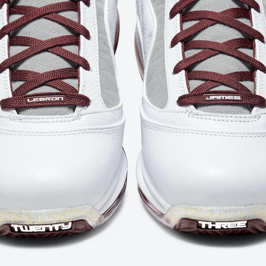 Nike LeBron 7 MVP 2020 CZ8915-100 Release Date