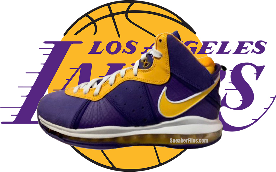 Nike LeBron 8 Lakers DC8380-500 Release Date