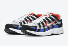 Nike P-6000 Black White Team Orange Racer Blue CD6404-008 Release Date Info