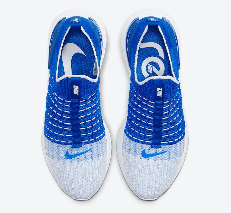 Nike React Phantom Run Flyknit 2 Photo Blue CJ0277-400 Release Date Info