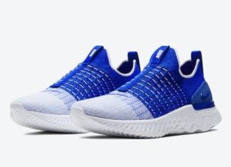 Nike React Phantom Run Flyknit 2 Photo Blue CJ0277-400 Release Date Info