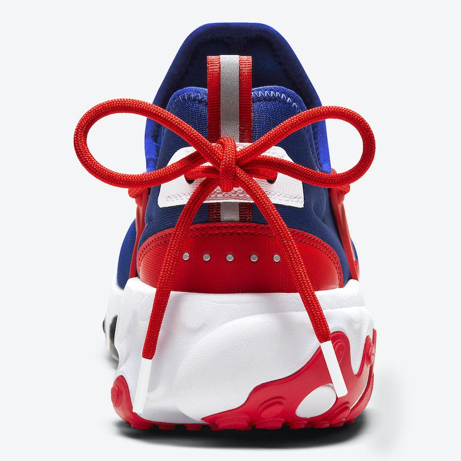 Nike React Presto Obsidian University Red White CW5586-400 Release Date Info