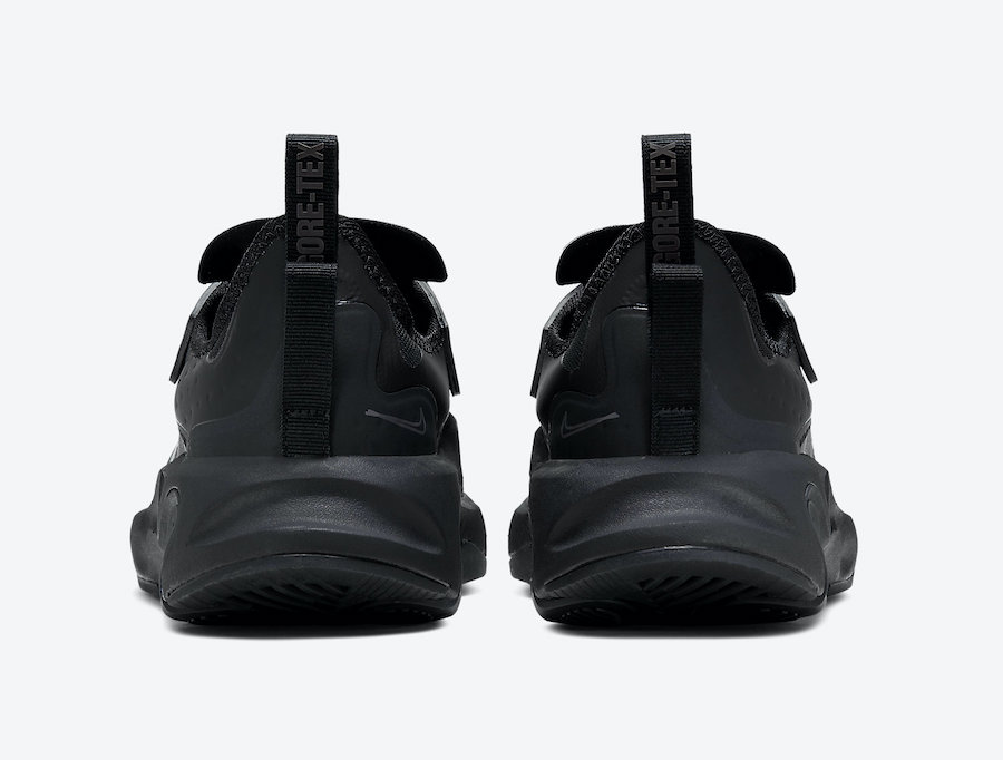 Nike React Type GTX Triple Black BQ4737-003 Release Date Info